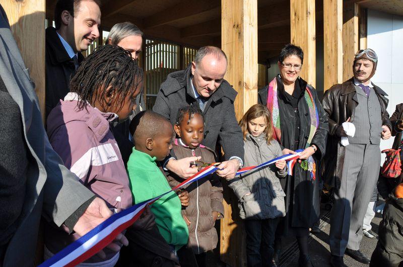 inauguration nouvelle école louis blériot