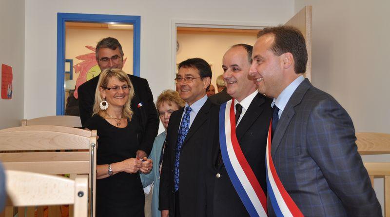 Inauguration de la crèche - vcc jcl