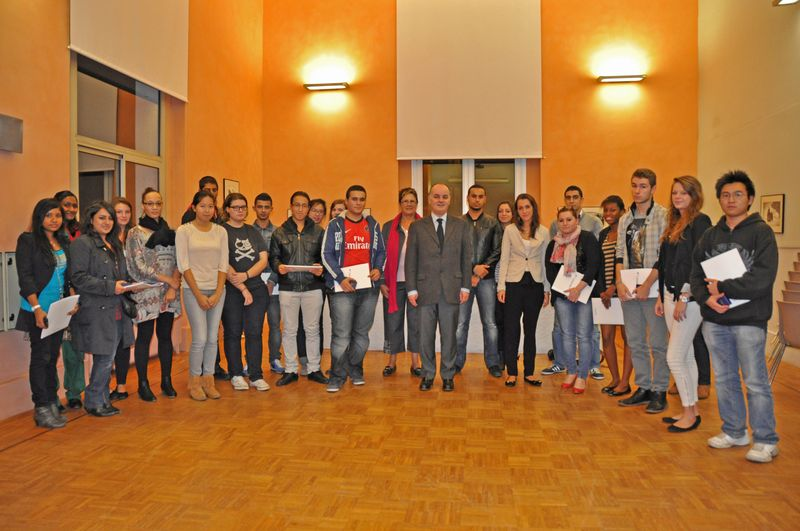 Bacheliers photo de groupe