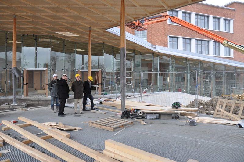 Chantier nouveau lycée sous la canopée2